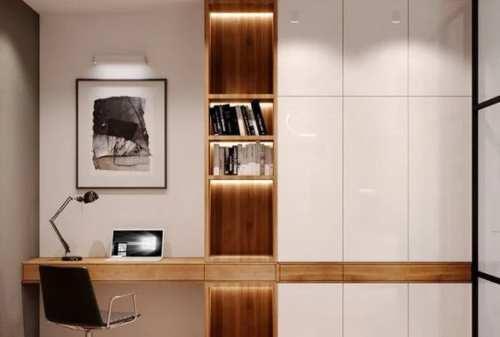 Biar Produktif, Tiru Deh Ide Desain Interior Kantor di Dalam Rumah Ini! 01 - Finansialku