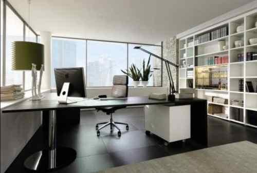 Biar Produktif, Tiru Deh Ide Desain Interior Kantor di Dalam Rumah Ini! 02 - Finansialku