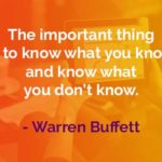 Kata-kata Bijak Warren Buffett Hal yang Penting Adalah - Finansialku