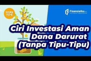 VIDEO_Investasi Aman Untuk Dana Darurat