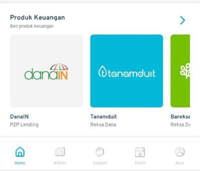 produk keuangan aplikasi Finansialku