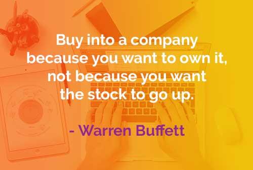 Kata-kata Bijak Warren Buffett Membeli Perusahaan - Finansialku