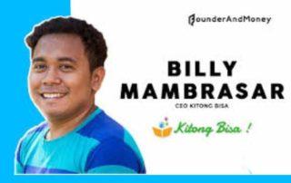 Ini Cara Billy Mambrasar Angkat Derajat Anak Indonesia Timur