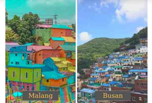 Colorful Village Jodipan, Malang