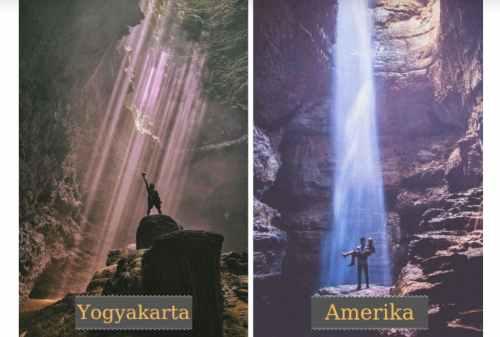 Jomblang Cave, Yogyakarta