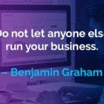 Kata-kata Motivasi Benjamin Graham Menjalankan Bisnis - Finansialku