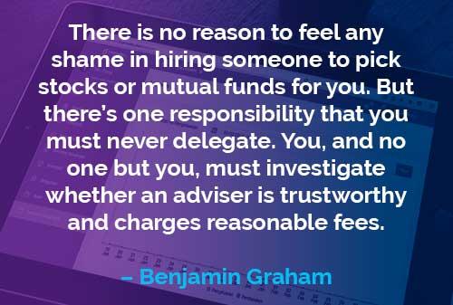 Kata-kata Motivasi Benjamin Graham Tanggung Jawab Anda - Finansialku