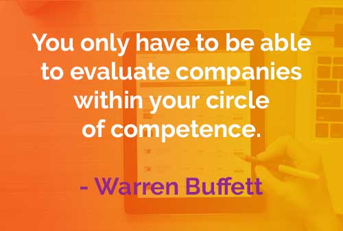 Kata-kata Bijak Warren Buffett Evaluasi Perusahaan - Finansialku