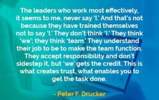 Kata-kata Bijak Peter Drucker Pemimpin yang Paling Efektif - Finansialku