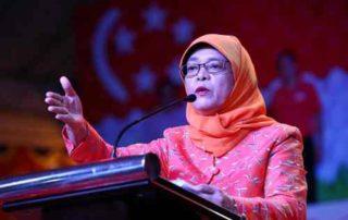 Mengenal Halimah Yacob, Presiden Wanita Pertama di Singapura 01 - Finansialku