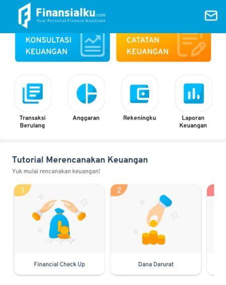 Panduan Melakukan Financial Check Up di Aplikasi dan Website Finansialku 1-2