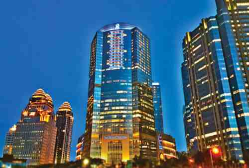9 Hotel Supermewah yang Bikin Jakarta Jadi Destinasi Internasional Ritz Carlton Pacific Place