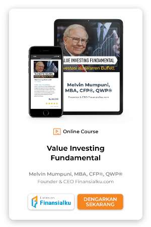 Online course value investing fundamental banner
