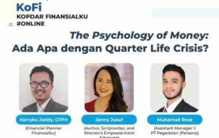 KoFi Finansialku The Psychology of Money Ada Apa dengan Quarter Life Crisis