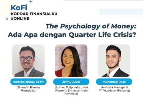 KoFi Finansialku The Psychology of Money Ada Apa dengan Quarter Life Crisis