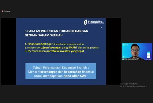 Wujudkan Tujuan Keuangan Syariah Bersama Finansialku dan Syariah Saham 01