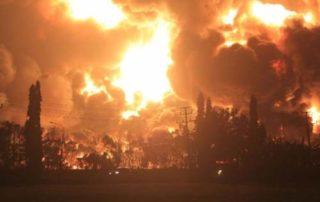 01Kilang Minyak Pertamina di Indramayu Terbakar