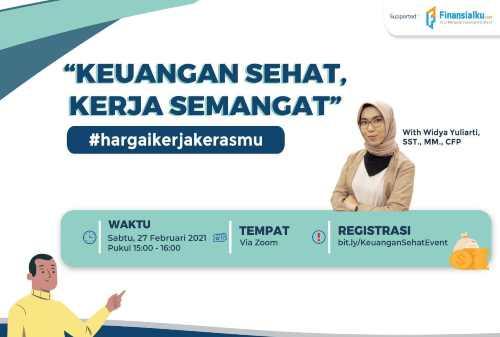 """Online Training Finansialku """"Miliki Semangat Kerja dengan Keuangan Sehat"""" 01"""