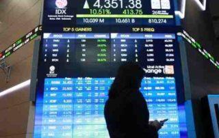 Rata-Rata Nilai Transaksi Harian BEI Turun Sebesar 0,60 Persen 01