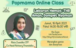 Finansialku X POPMAMA Lebaran Hemat, THR Aman 01