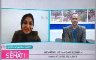 Finansialku Hadiri Talkshow Bincang Sehati Daai TV Mengenal Keuangan Syariah
