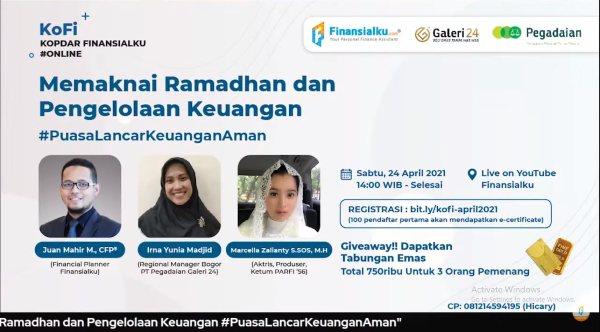 KoFi (Kopi Darat Finansialku) Memaknai Ramadan dan Pengelolaan Keuangan poster