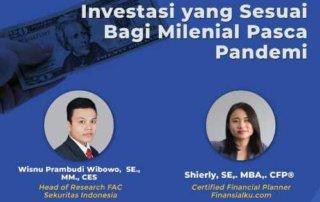 Finansialku X LSPPM_ Investasi yang Cocok bagi Milenial Pasca Pandemi poster (1)