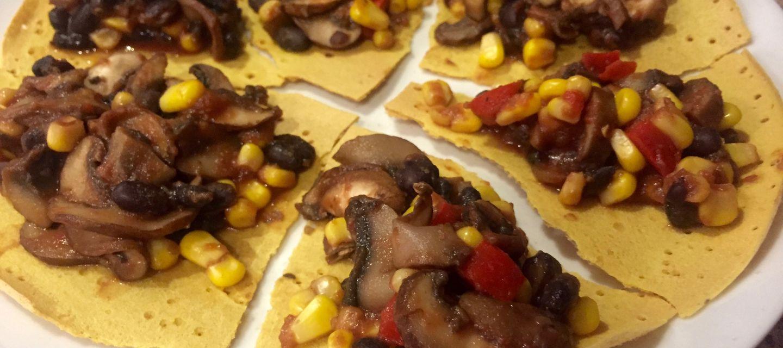 Chickpea Tortilla Crepes