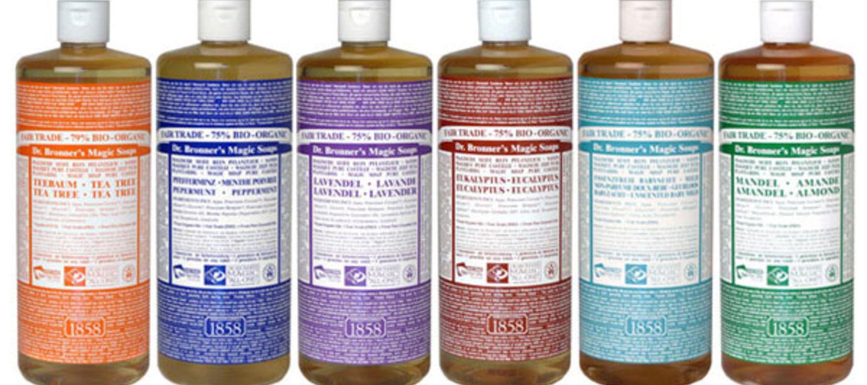 Review: Dr  Bronner's Organic Fair Trade Magic Soaps