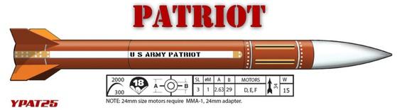 """LOC 2.6"""" Patriot"""