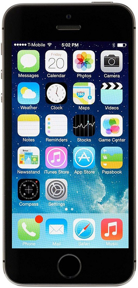 Apple iPhone 5s 32 GB Space Grey Deblocat Foarte Bun imagine