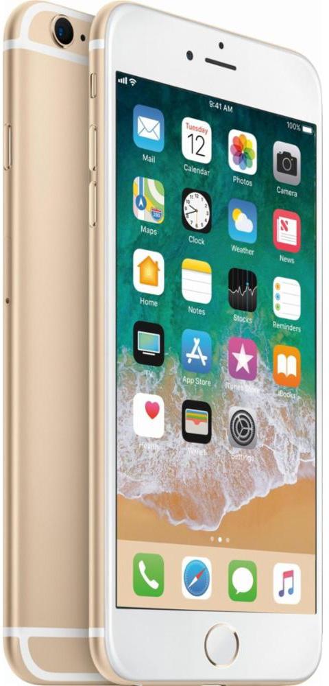 Apple iPhone 6S Plus 16 GB Gold Deblocat Excelent imagine