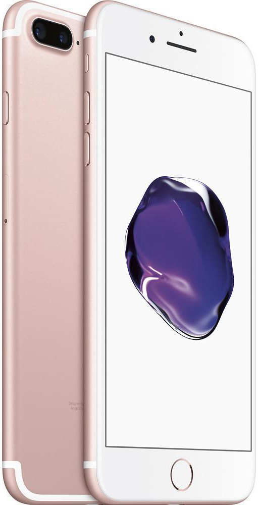 Apple iPhone 7 Plus 32 GB Rose Gold Deblocat Foarte Bun imagine