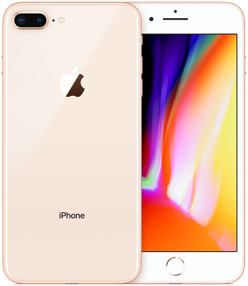 Apple iPhone 8 Plus 64 GB Gold Deblocat Foarte Bun