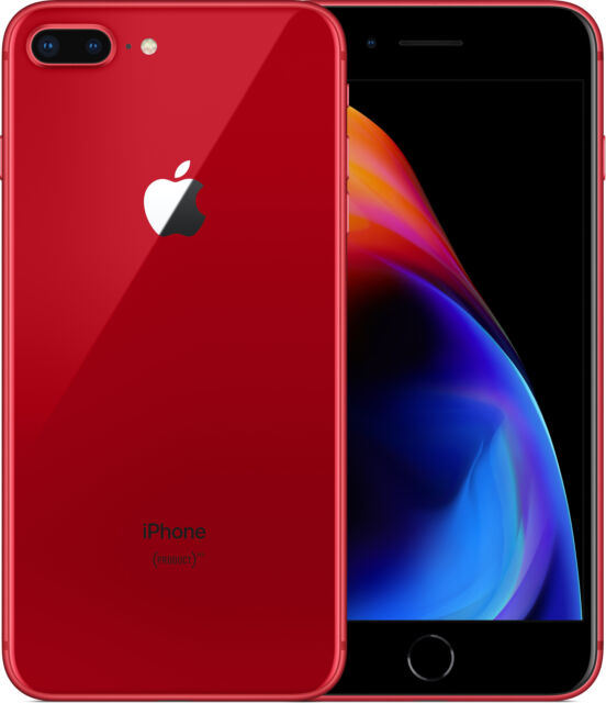Apple Iphone 8 Plus 64 Gb Red Deblocat Foarte Bun