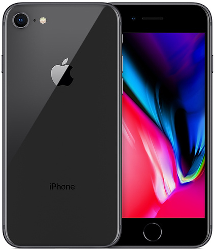 Apple iPhone 8 64 GB Space Grey Deblocat Excelent imagine