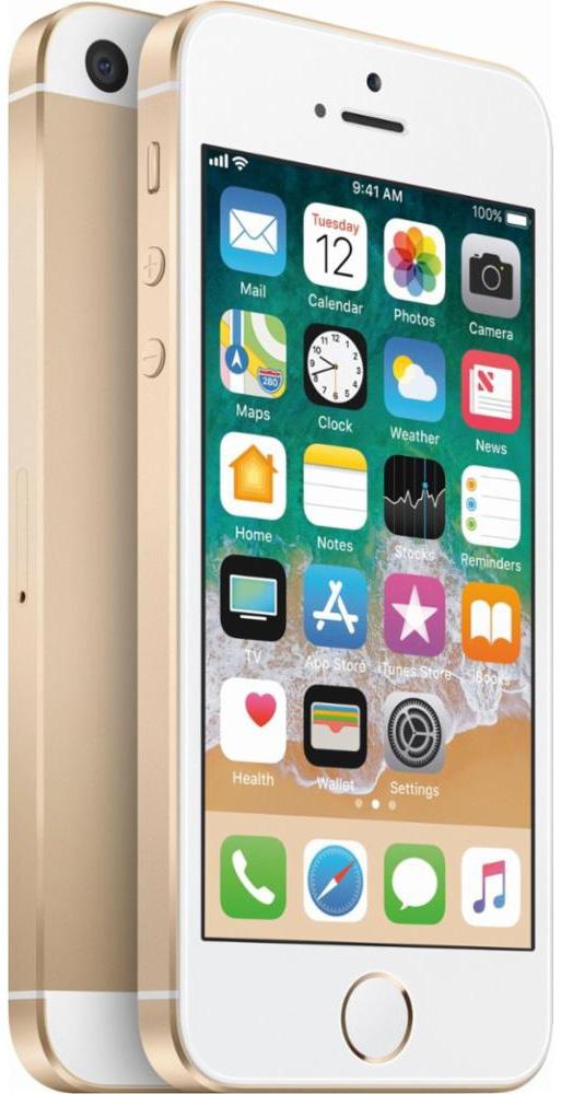 Apple iPhone SE 16 GB Gold Deblocat Bun