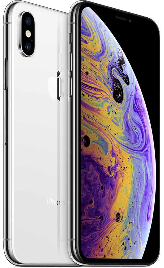 Apple iPhone XS Max 64 GB Silver Deblocat Foarte Bun imagine