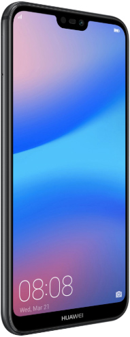 Huawei P20 Lite Dual Sim 64 GB Midnight Black Deblocat Excelent imagine