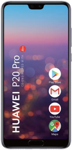 Huawei P20 Pro 128 Gb Twilight Deblocat Foarte Bun