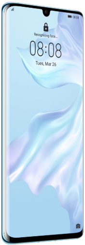 Huawei P30 Dual Sim 128 GB Breathing Crystal Deblocat Excelent imagine