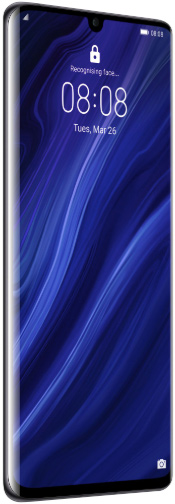 Huawei P30 64 GB Black Deblocat Foarte Bun imagine