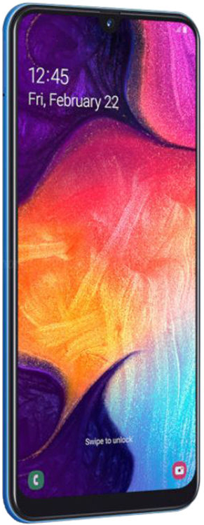Samsung Galaxy A50 (2019) 128 GB Blue Deblocat Bun imagine