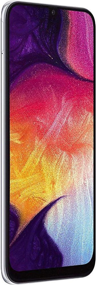 Samsung Galaxy A50 (2019) 128 GB White Deblocat Foarte Bun imagine