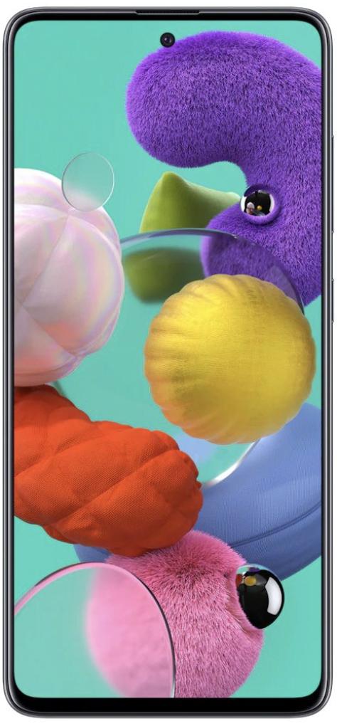 Samsung Galaxy A51 Dual Sim 128 GB Black Deblocat Excelent imagine