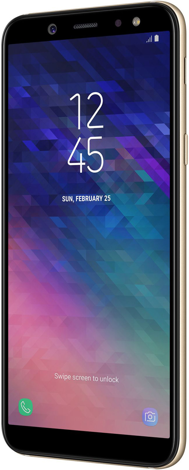 Samsung Galaxy A6 (2018) 32 GB Gold Deblocat Foarte Bun