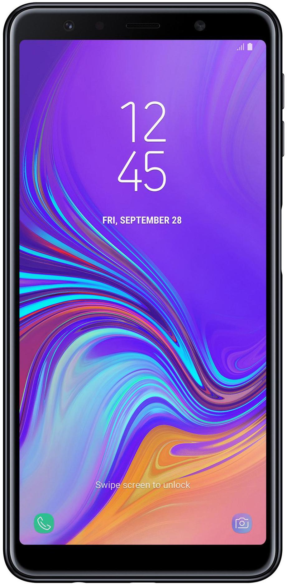 Samsung Galaxy A7 (2018) Dual Sim 128 GB Black Deblocat Ca Nou