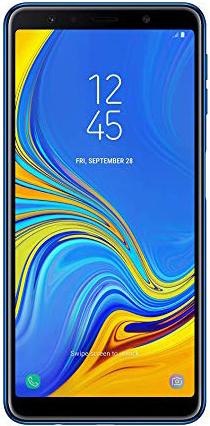 Samsung Galaxy A7 (2018) Dual Sim 64 GB Blue Deblocat Foarte Bun imagine