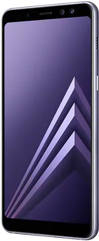 Samsung Galaxy A8 (2018) Dual Sim 32 GB Orchid Gray Deblocat Foarte Bun imagine
