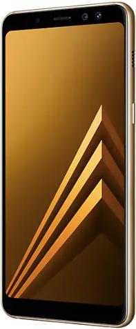 Samsung Galaxy A8 (2018) 32 GB Gold Deblocat Excelent imagine